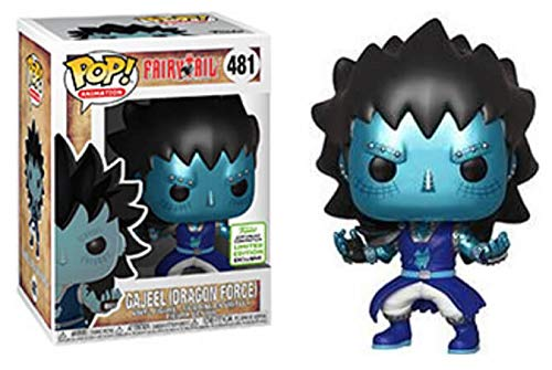 POP Funko Fairy Tail 481 Gajeel (Dragon Force) Spring Convention 2019