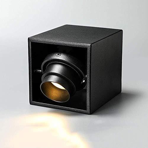 Lyuez 8W/10W-ruimte plafondinbouwlampen Sp Otlights schijnwerper hoek instelbaar focus COB-LED-paneel lampen verlichting 360 ° draaibare oppervlaktemontage industriële inbouw