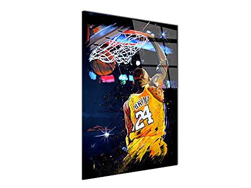 Declina - Cuadro de plexiglás impreso, marco decorativo sobre cristal acrílico, decoración...