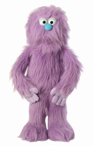 30' Purple Monster Puppet, Full Body Ventriloquist Style Puppet