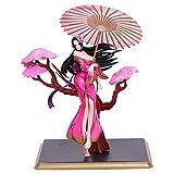 LCFF Figura Anime Figure One Pieza Figura de acción Boa.Hancock Cheongsam Emperatriz 25cm Estatuilla Colección Estatua Decoración Niños Juguetes Doll Regalo (Color : Pink)