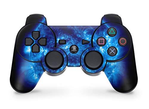 Skins4u Playstation 3 Controller Skin Aufkleber Sticker Set - Big Blue