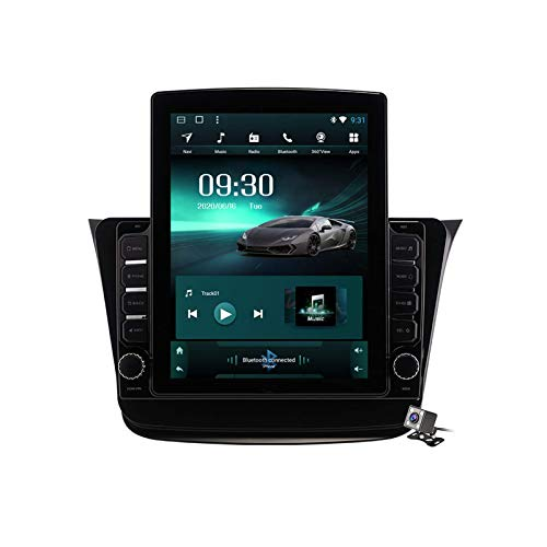 Autoradio Android 9.0 Radio compatibile Suzuki Wagon R 2019-2020 Navigazione GPS Schermo verticale da 9,7 pollici Unità principale Lettore multimediale MP5 Video con 4G WiFi DSP Mirror Link Navigazio