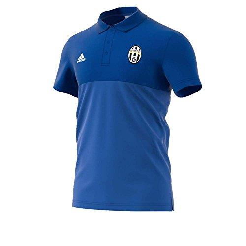 adidas SSP Camiseta Polo Línea Juventus FC, Hombre, Azul (Azuint/Azuvit), S