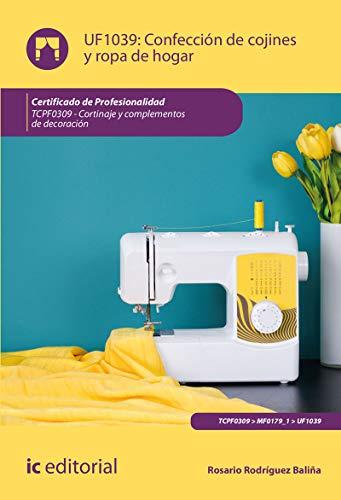 Confección de cojines y ropa de hogar. TCPF0309 - Cortinaje y complementos de decoración