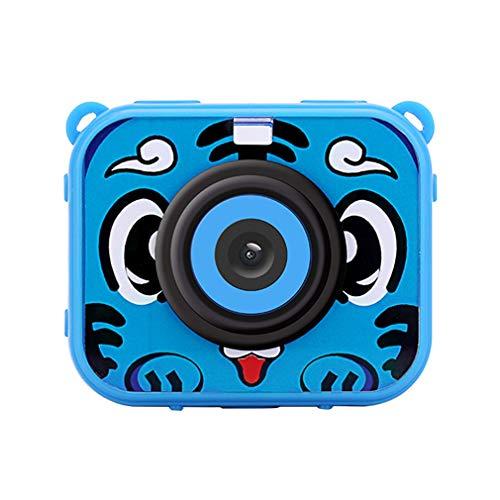 At-J20 Digital Toys Cámara Deportiva Cámara para niños Puzzle Cámara Juguetes para niños (Azul)