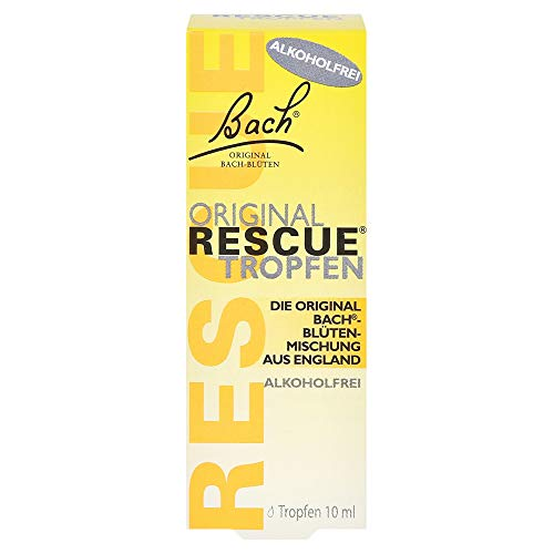 Bach Original Rescue Tropfen alkoholfrei, 10 ml Solución