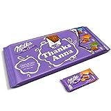 Barra gigante de Milka - Barra XL de Milka personalizada con nombre y mensaje de tu elección, la barra gigante contiene 9 barras de delicioso choaolate Milka