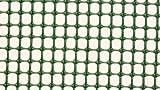 *AquaFert Pflanzgitter/Plastikgitter/Moosgitter Maschenweite 5 mm PE-Kunststoff grün eingefärbt