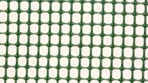 AquaFert Pflanzgitter/Plastikgitter/Moosgitter Maschenweite 5 mm PE-Kunststoff grün eingefärbt