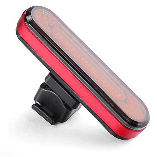 ZENING Luz de advertencia de luz trasera duradera de bicicleta genérica lámpara de seguridad LED