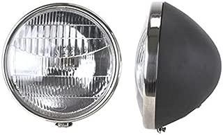 Commercial Headlights, Fits 1934 Ford, 12V Halogen, Stock 9-1/2 In Diameter