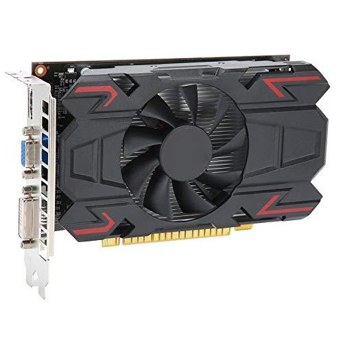 Grafikkarte, 4 GB 128 Bit Computergrafikkarte, 650 MHz PCI Express 3.0 Grafikkarte für AMD, Desktop Computernetzwerkzubehör