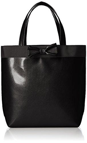 [キタムラ] A4サイズ対応 ハンドバッグ R-0557 パールブラック [黒] 15151