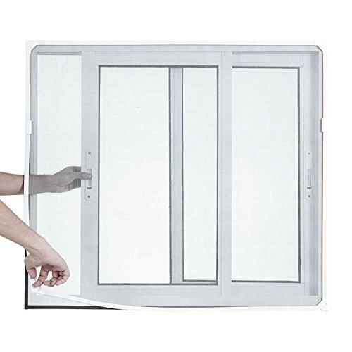 Tela Mosqueteira Magnética Branca/ Cinza 90 X 90cm
