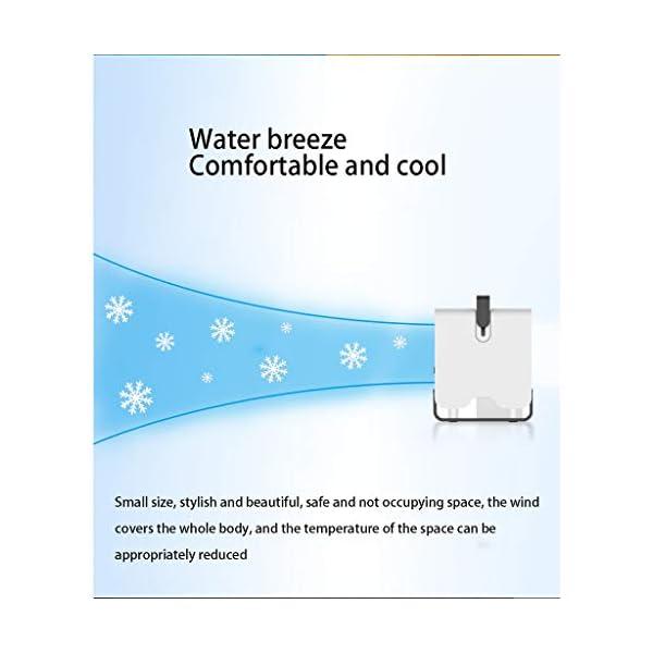MELAG-Mini-Enfriador-de-Aire-Climatizador-Evaporativo-Personal-Air-Cooler-Mini-Anion-Ventilador-de-Aire-Acondicionado-Refrigerador-de-Escritorio-Refrigeracin-de-Oficina-BlancoNegro-151X1-50X171mm