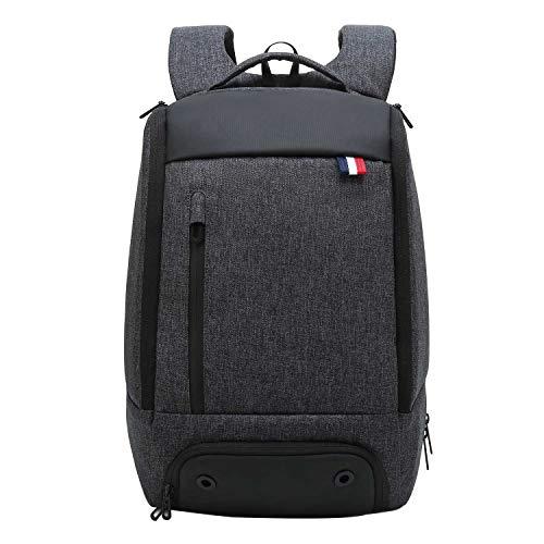 Neuleben Rucksack mit Schuhfach 156 Zoll Laptopfach Anti Diebstahl Multifunktion Wasserabweisend Reiserucksack Sportrucksack Schwarz