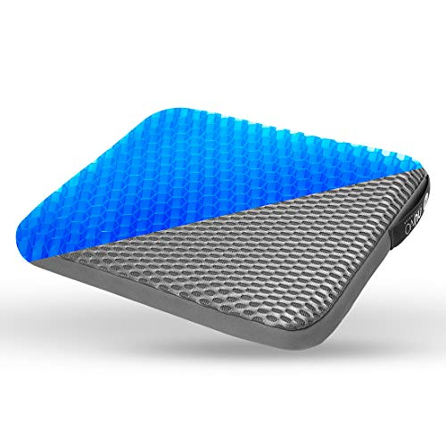 NUVO ACS Gel Seat Cushion - Relieves Back Pressure -for...