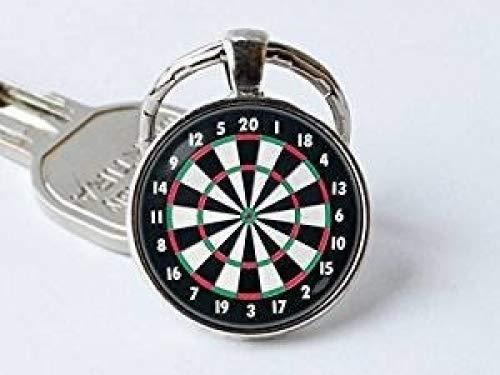 Dart, Dart Schlüsselanhänger Key Ring Dartscheibe Schmuck, Sport Geschenk Dartscheibe Schlüsselanhänger Dartscheibe Anhänger, Dart Schmuck, Dart Dart Target
