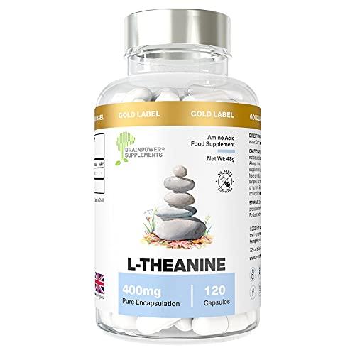 L-Theanine   120 capsule di L-Teanina pregiata   Vegan...