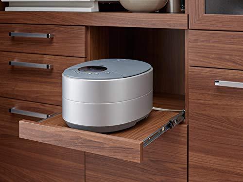パモウナ食器棚YCアイダホオーク幅105×高さ180×奥行40日本製YC-S1050R