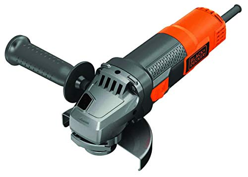 BLACK+DECKER BEG220-QS Amoladora angular 900 W, 12.000 rpm,