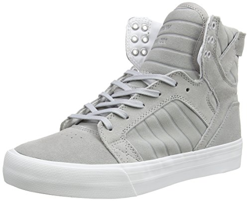 Supra Skytop HF, Zapatillas Altas Unisex Adulto, Gris - Grau (Light Grey - Off White LGY), 40 EU