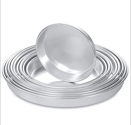Aluminium Baklava Firin Tepsisi Yuvarlak Backform Backblech Rund 32-34-36-38-40-42cm (32cm)