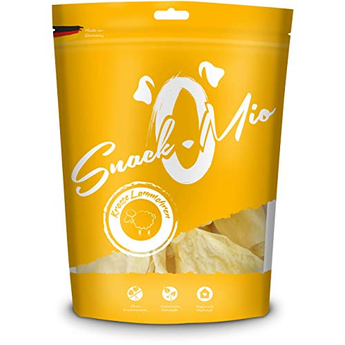 SnackOMio krosse Lammohren 20 Stück, 1er Pack (1 x 0.5 kilograms)