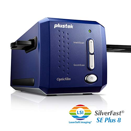 : Plustek OpticFilm 8100 Film & Slide Scanner : Slide Negative Scanners