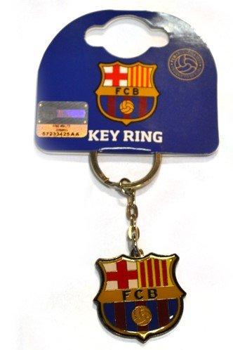 F.C Barcelone Porte-clés en métal