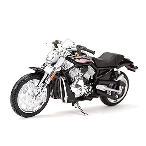 MHDTN El Maquetas Coche Motocross Fantastico 1︰18 para 2006 VRSCR Street Rod Deportivo Estático Colección De Motocicletas Hobby Niño Niña Regalo Expresión De Amor