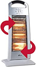 Thulos Estufa halógena, 3 ajustes de Temperatura, 400/800/