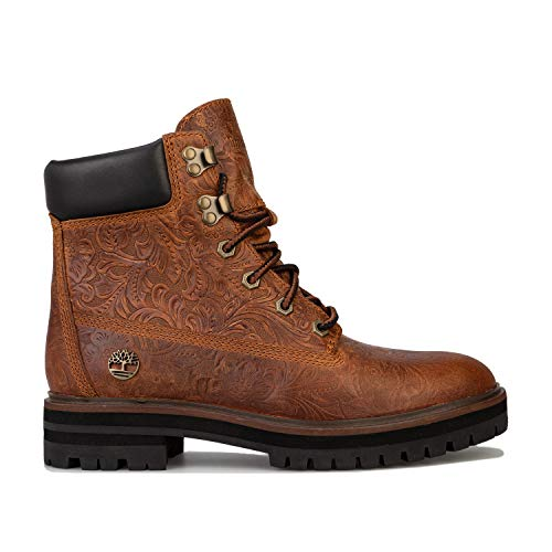 Timberland W London Square 6 inch Boot Brown Dames General, maat EU 41,5 - kleur Saddle