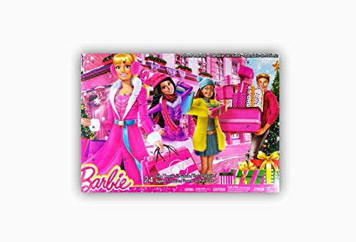 Barbie - Calendario de adviento (Mattel CLR43