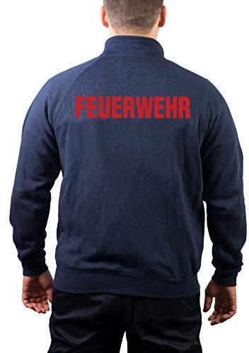 Veste de survêtement Navy, pompier rouge - Bleu - Small