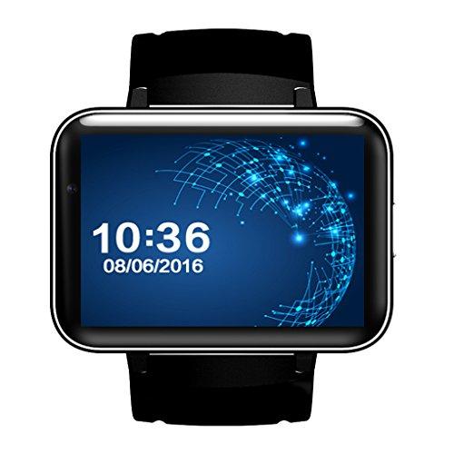 Mengonee DM98 SIM Karte 3G Smart Uhr Bluetooth 4.0 GPS Wifi Android 4.4.2 2,2 Zoll Uhr