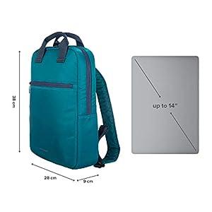 41IpAEixGwL. SS300  - Tucano-Mochila Colorida para Ordenador de 13, 14,15 Pulgadas. Bolsillos Interiores Acolchados para portátil,MacBook,iPad y Tablet. Mochila Lux es para la Oficina y Universidad para Mujeres y Hombres.