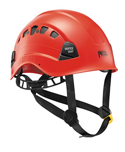PETZL Helm Vertex Vent - Casco de Escalada, Color Rojo, Talla XS/XXL (53-63 cm)