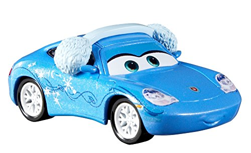 Cars 3- Feliz Navidad Sally (Mattel FBG34) , color/modelo surtido