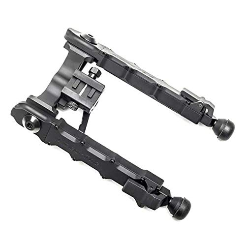 Accu-Tac HD-50, 50BMG Heavy Duty Rifle Bipod, Black