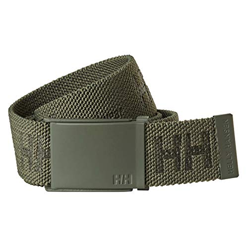 Helly Hansen Men's Workwear 79528 HH Logo Webbing Belt, Army Green - STD