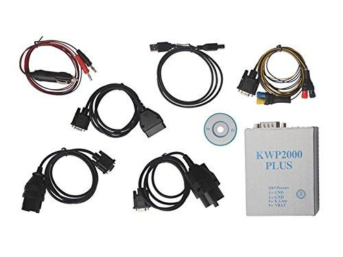 Newest KWP 2000 Plus ECU Flasher OBD2 OBD II ECU Chip Tunning Tool KWP2000 Read & Write ECU For Multi Brand Cars In Stock
