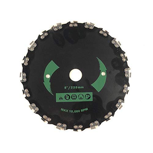 Ironhorse Hoja de cortacésped universal para árbol de sierra de corte de árbol pequeño de ángulo recto, 230 mm de diámetro exterior