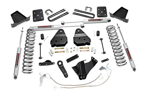 Rough Country 4.5' Lift Kit (fits) 2008-2010 Super Duty F250 F350 4WD | N3 Shocks | Suspension System | 478.20