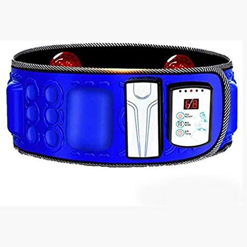 Máquina Para Adelgazar Cinturón - Quemador De Grasa Para El Vientre Eléctrico Peso Ejercicio Masaje Vibración Cinturón Magnético Para Adelgazar Cinturón Para Quemar Grasa Para Hombres Y Mujeres,Blue
