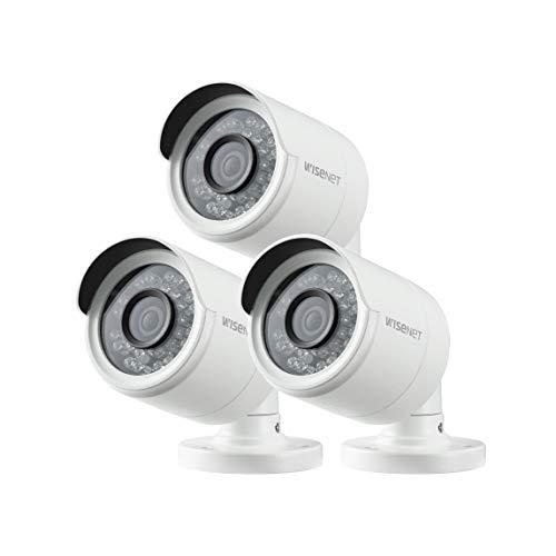 (Set of 3) Samsung SDC-9443BC 1080p HD Weatherproof Bullet Camera (Compatible with SDH-B74041 &...