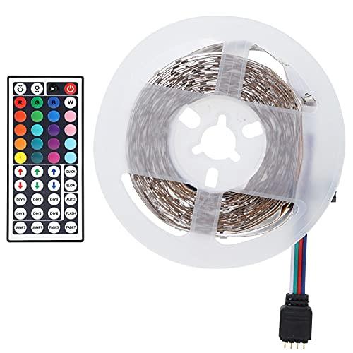 FOLOSAFENAR Lámpara Decorativa, Interruptor de Modos Tira de luz de Alta transmisión de luz Fácil de Instalar Seguro de Usar para reunión Familiar de Dormitorio en casa