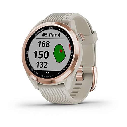 Garmin Unisex-Smartwatch Digital Akku One Size Beige...