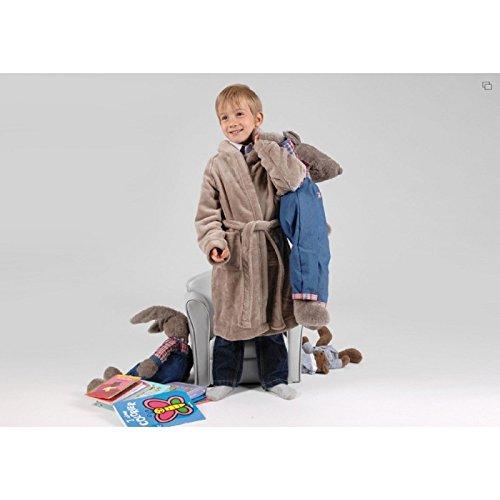 Robe de chambre pour 6 ans , de couleur taupe, collection Les Petits, Amadeus